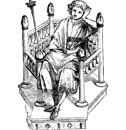 chair of the twelfth century vintage