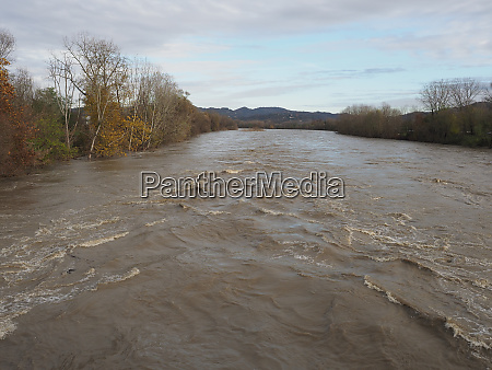 large river flood