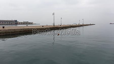 empty pier trieste