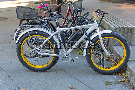 fat tyres electric bicycle