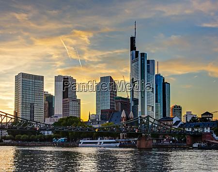 skyline, of, frankfurt, at, the, main - 27620409