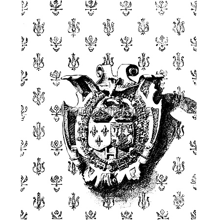emblem showing the joined crowns