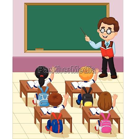 cartoon little kid a study in
