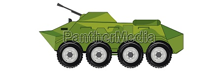 combat machine of the infantry on