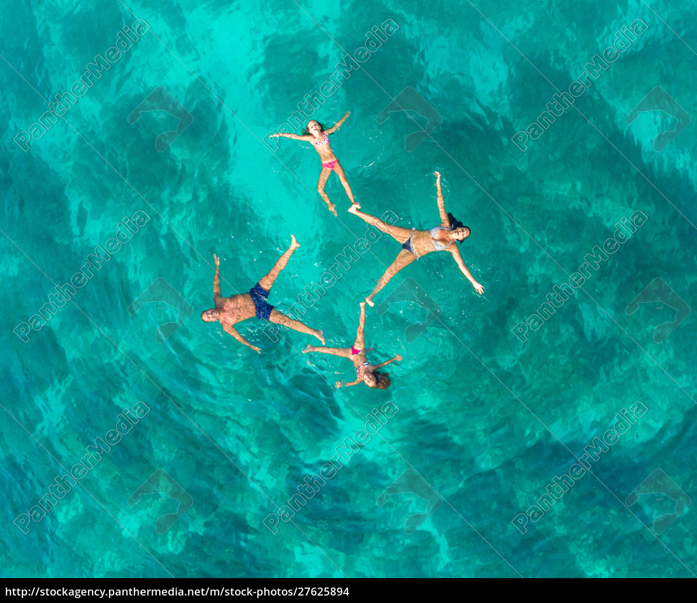 aerial, view, of, family, of, 4 - 27625894