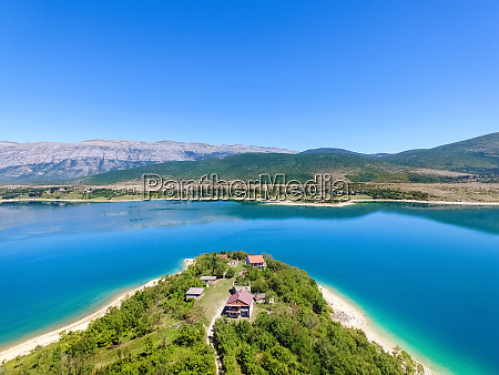 aerial, view, of, peruca, lake, , second - 27625944