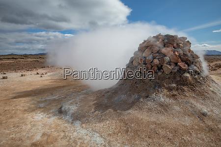 geothermal activity myvatn iceland