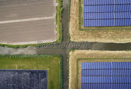 large solar farms andijk noord holland