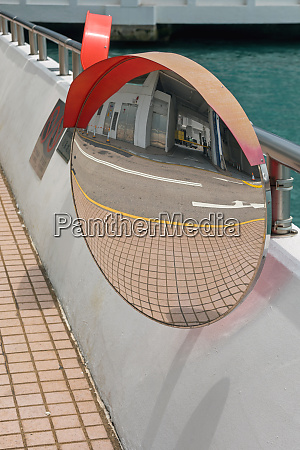 traffic convex mirror