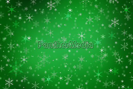 abstract green christmas winter background