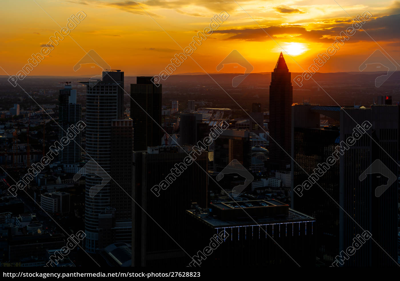 aerial, view, over, the, skyscrapers, of - 27628823