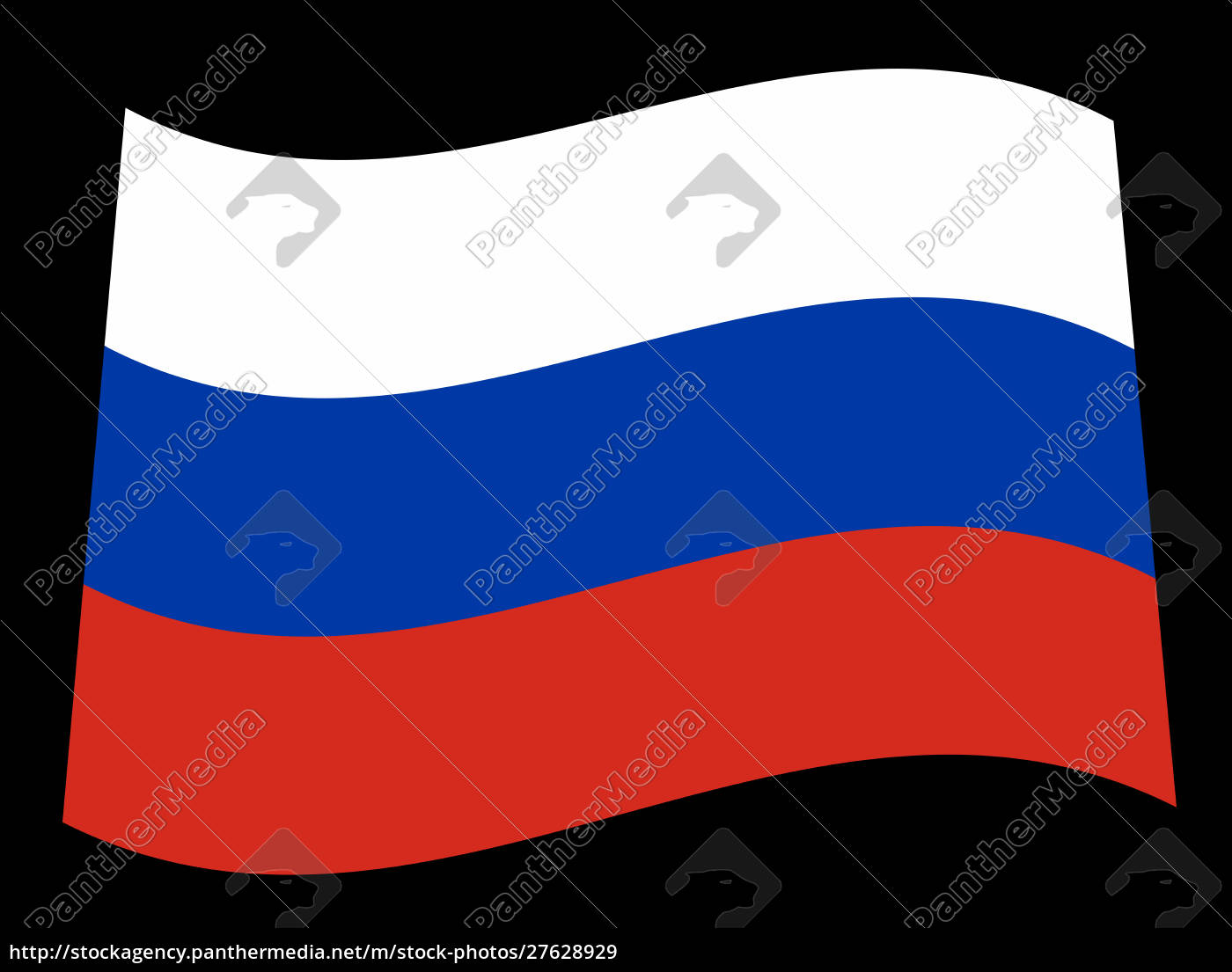 russian, flag, in, red, white, and - 27628929