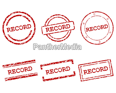 record stamps