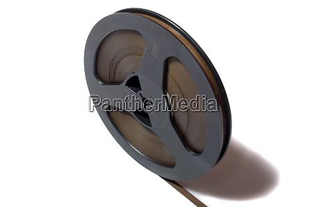 vintage magnetic audio tape