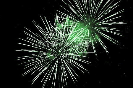 luxury fireworks event sky show with
