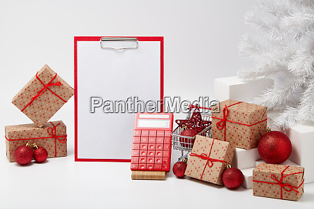 christmas and new year shopping shopping