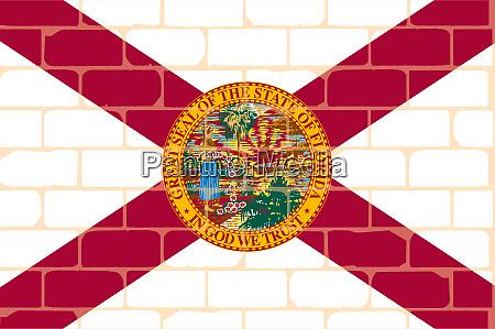 florida flag wall graffiti