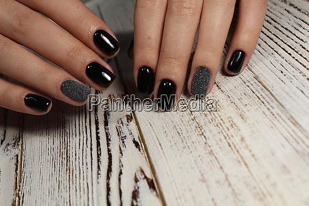 stylish design of manicure