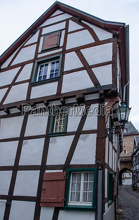 half timbered house