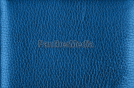 background texture of blue natural leather