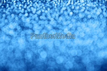 abstract background of blue light bokeh