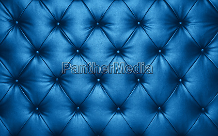 blue leather capitone background texture