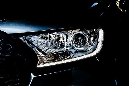 headlights car