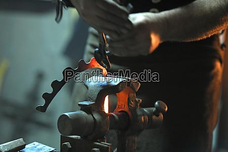 blacksmiths advent in steyr upper austria