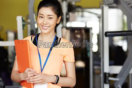 fitness gym staff woman