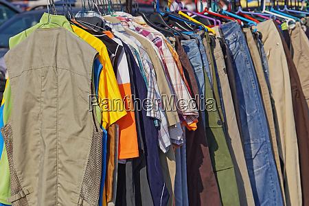 flea market clothing