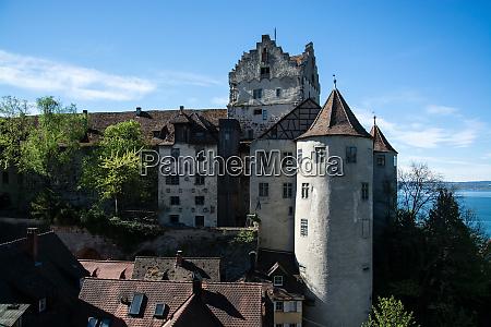 mersburg castle baden wuerttemberg germany