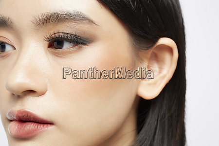 beauty half makeup