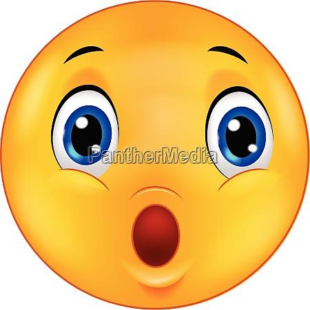 surprised emoticon smiley