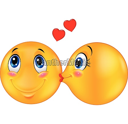 kissing emoticon