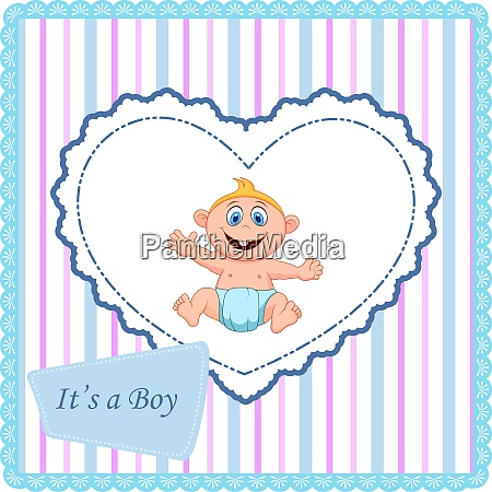 baby card catoon