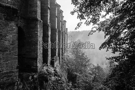 the ruins of burg oybin 1369