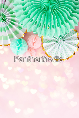 decoative party background