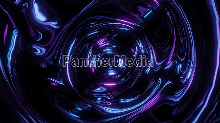 abstract glowing time flies stock graphic
