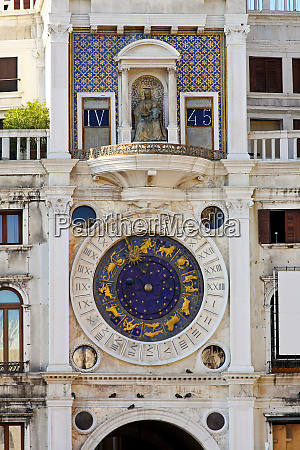 venice astrology clock