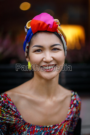 a young woman of asian appearance