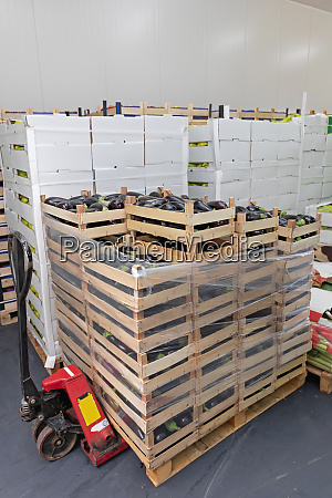 pallet jack crate load