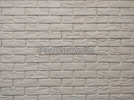 modern white brick wall texture background