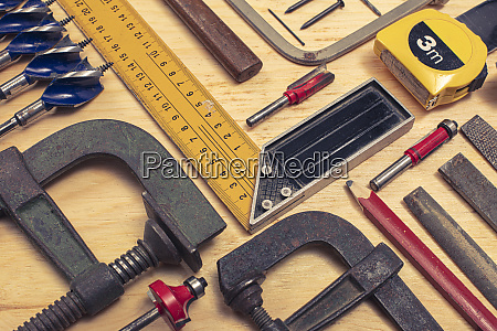 composition of various mechanical tools related