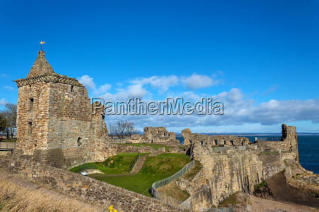ruins of st andrews castle