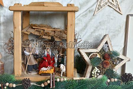 christmas crib in bad ischl gmunden