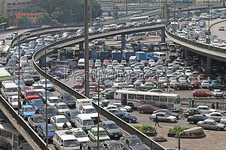 traffic jam cairo