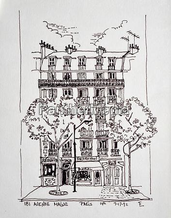 181 avenue du maine paris france