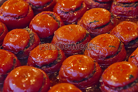 snack food made of tomatoes istanbul