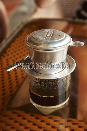 vietnamese coffee with condensed milk hoi