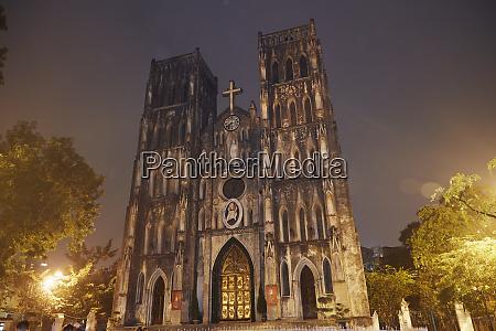 st josephs cathedral hanoi vietnam